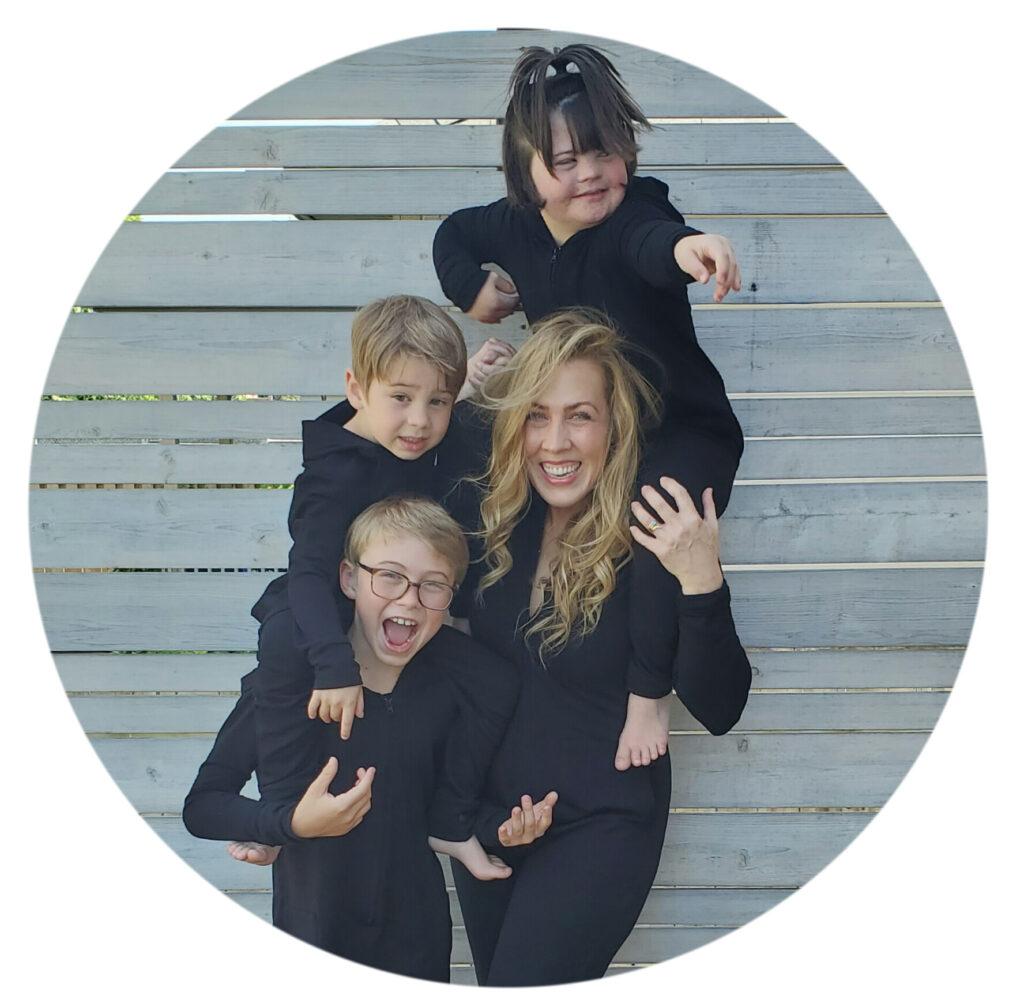 Tara and her children